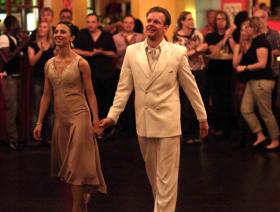 Nina Gonzales und Uwe Kops tanzen Tango